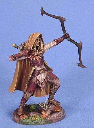 Drawn figurine male archer Elf Archers images 121 Archer