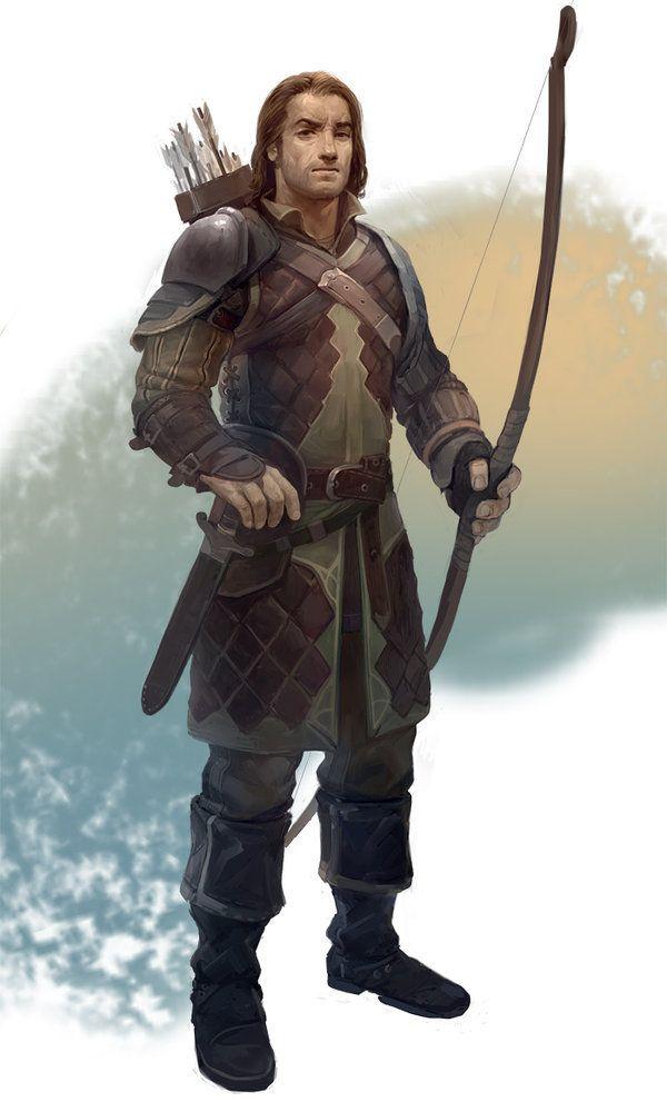 Drawn figurine male archer Georgi on Pinterest about Georgiev