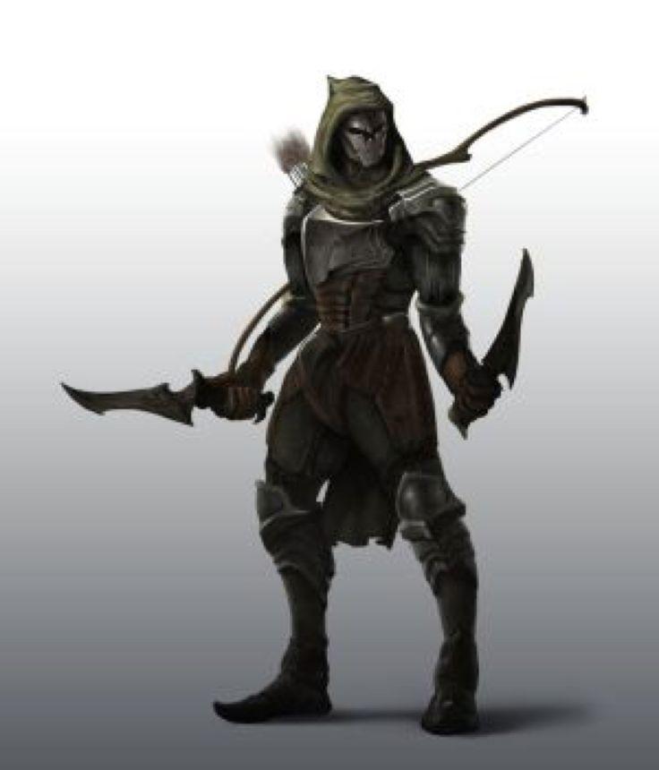 Drawn figurine male archer Best Pinterest Male on 115