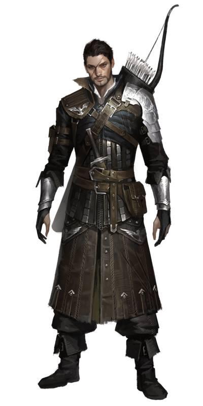 Drawn figurine male archer Archer/soldier Pinterest Celtican LOTL male
