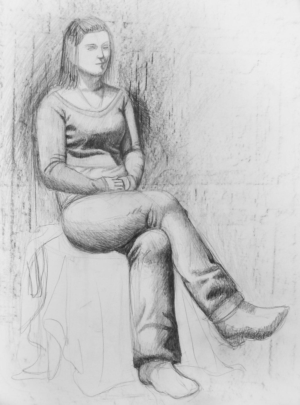 Drawn figurine pencil full body Full portrait body body DeviantArt