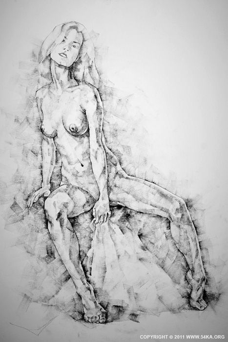 Drawn figurine pencil full body Drawing Page study 28 on
