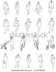 Drawn figurine person Drawings of Coloring drawing of