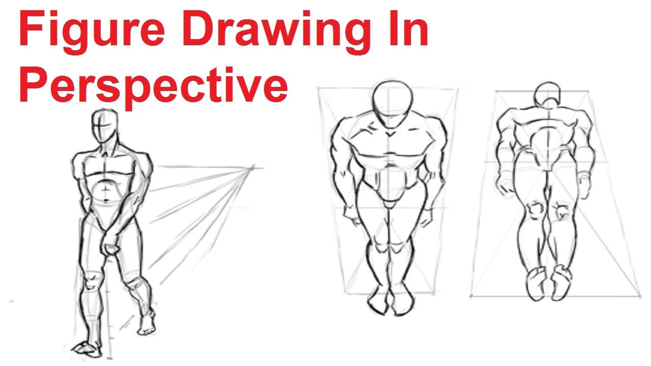 Drawn figurine person To 4/8 How How In