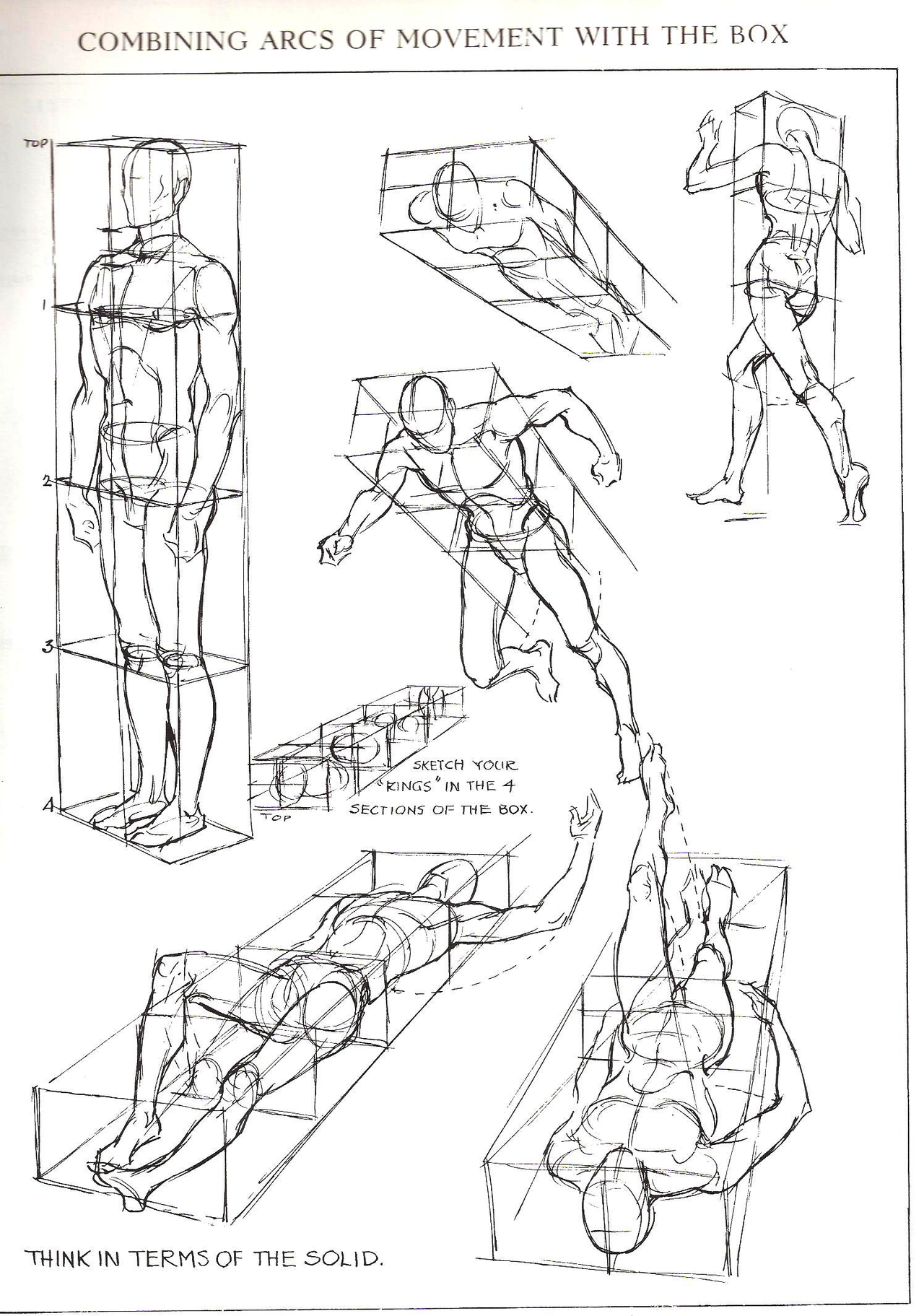 Drawn figurine perspective For from Drawing perspective All