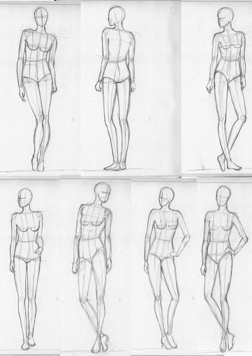 Drawn figurine practice Lucis7: little More More sketchdump