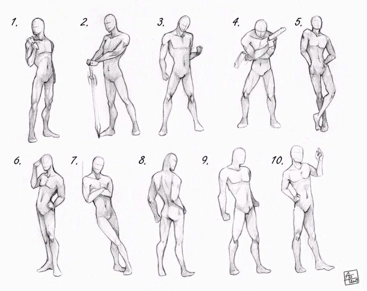 Drawn figurine practice Best ReferenceDrawing ReferenceFigure images ·
