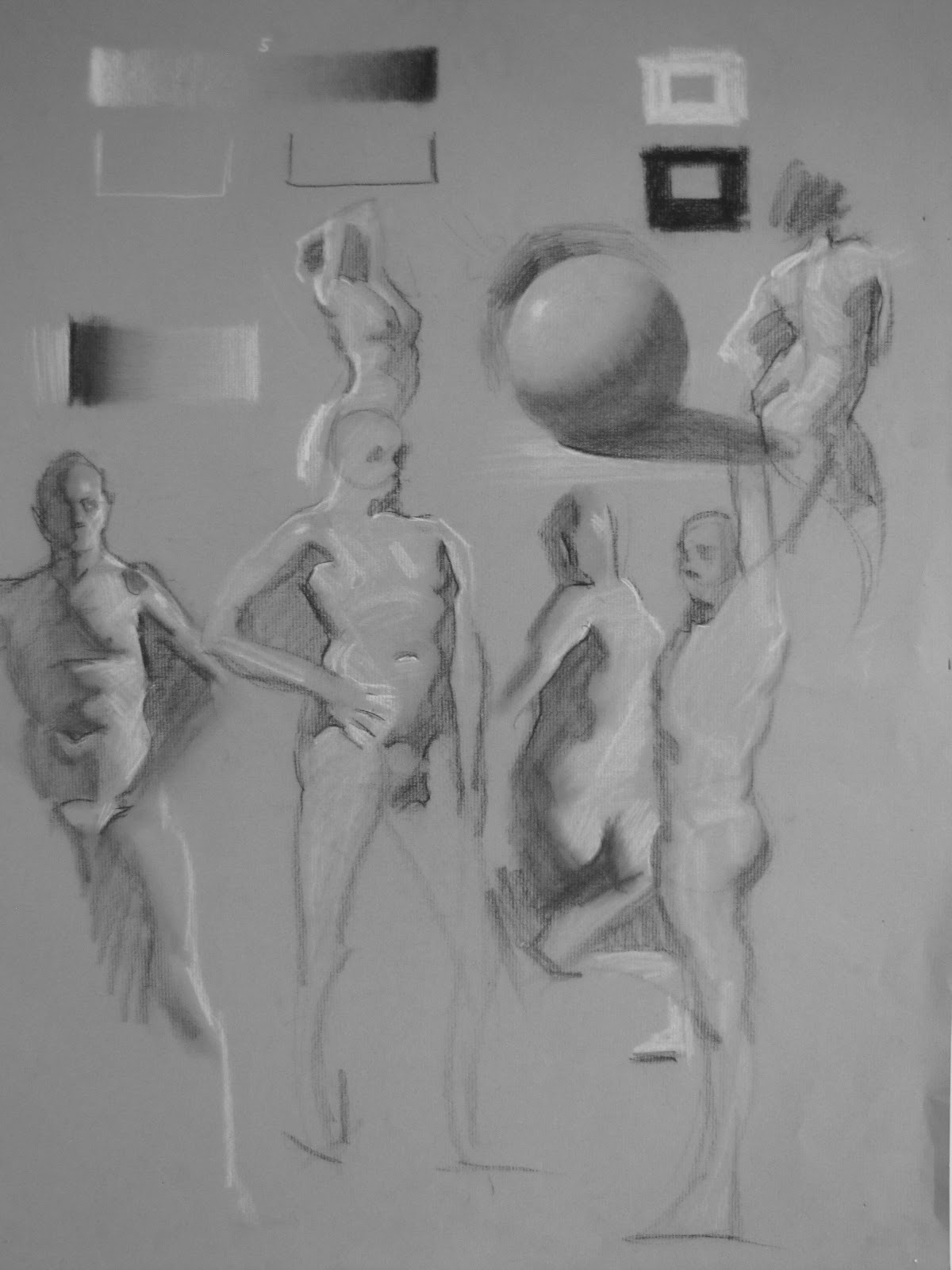 Drawn figurine shadow The The Figure PM Draw