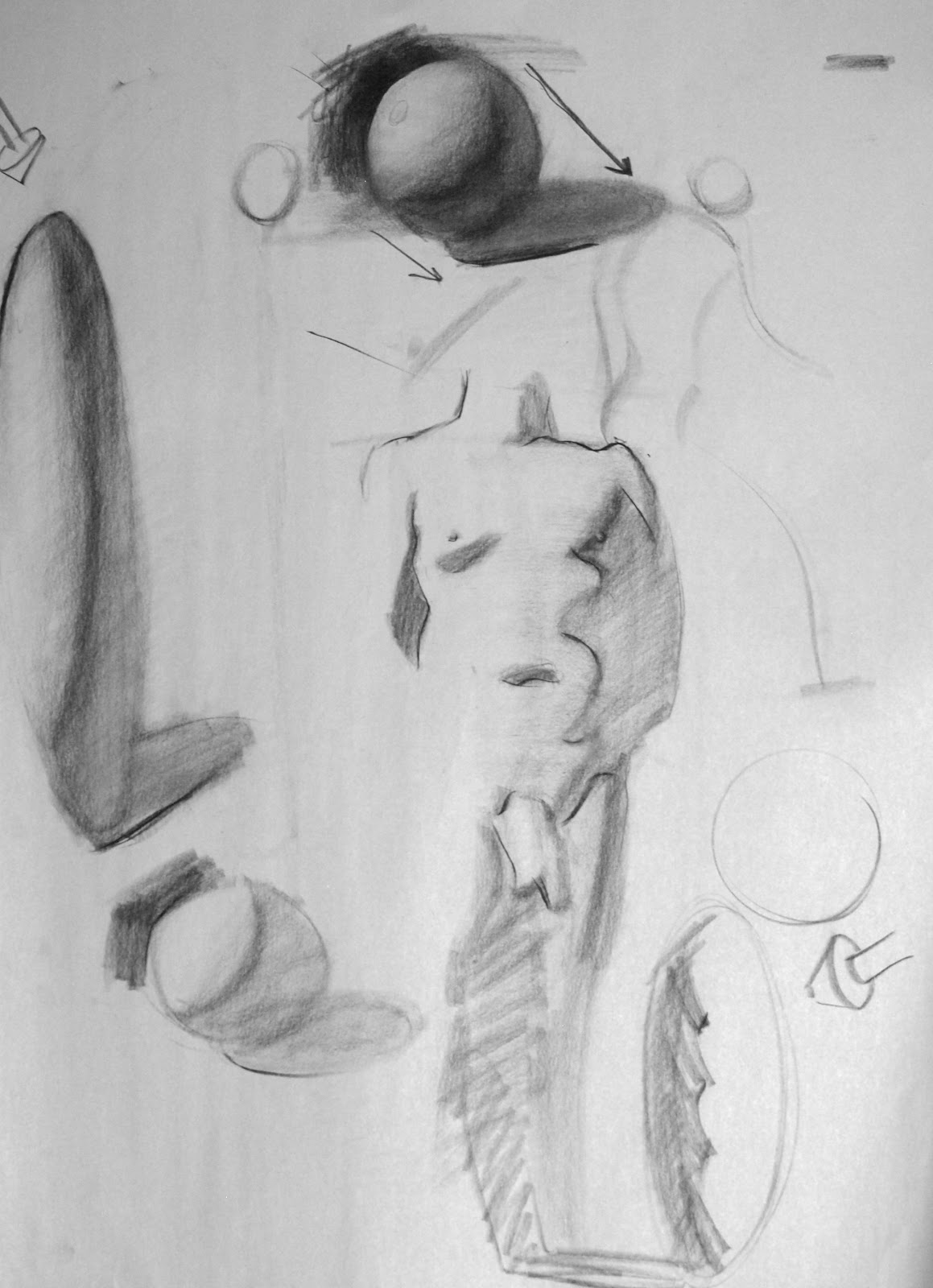 Drawn figurine shadow The applying Draw the everything!