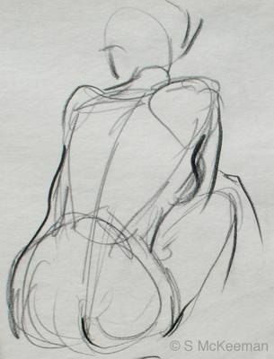 Drawn figurine sketch model Model reference 25+ Figure drawing
