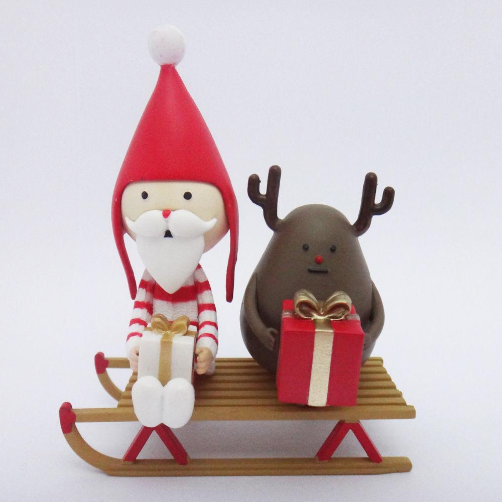 Drawn figurine sticky 3 Santa Sticky Lab 5in