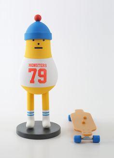 Drawn figurine sticky  黏黏怪物研究所 a monster Monster