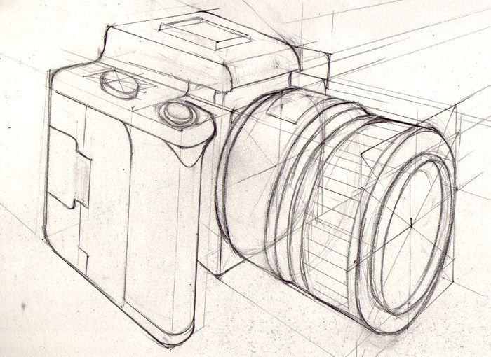 Drawn figurine unusual perspective The perspective Observational ideas best