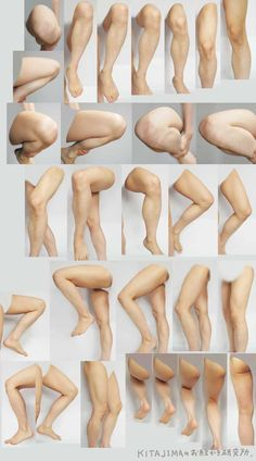 Drawn finger thigh Draw legs I draw to