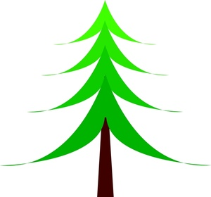 Drawn fir tree simple Christmas Image: Drawing Art Christmas