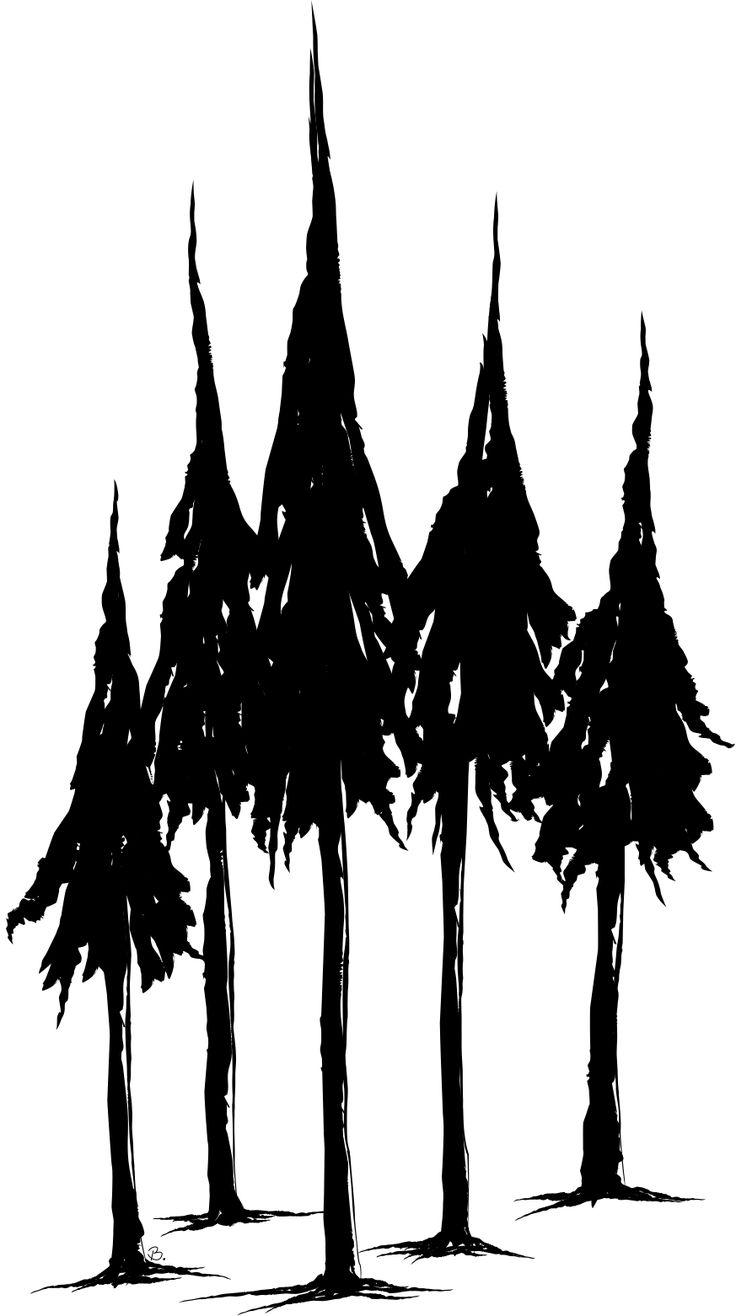 Drawn fir tree simple Place: Best Freebie on 25+