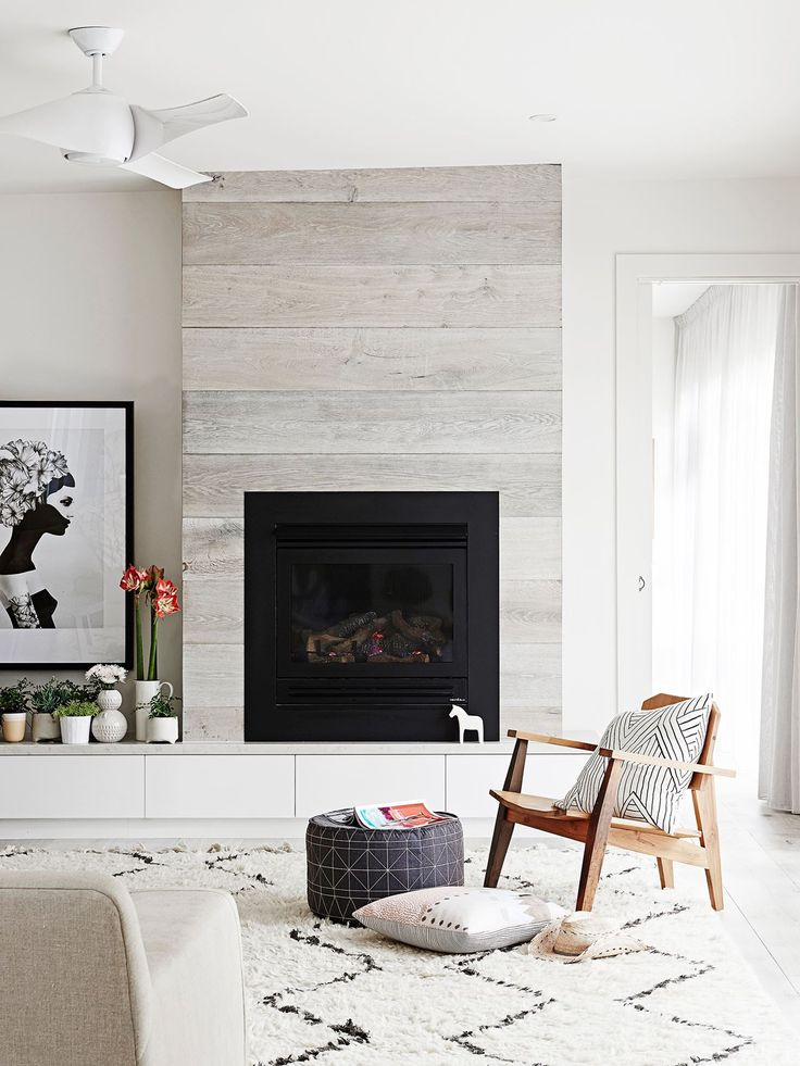 Drawn fireplace Fireplace feature joinery white pale
