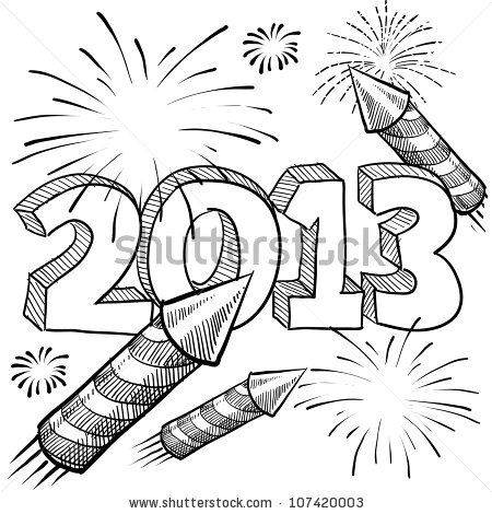 Drawn fireworks Search Pinterest ideas Best Firework