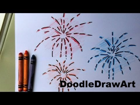 Drawn fireworks Draw EASY! for Fireworks Drawing