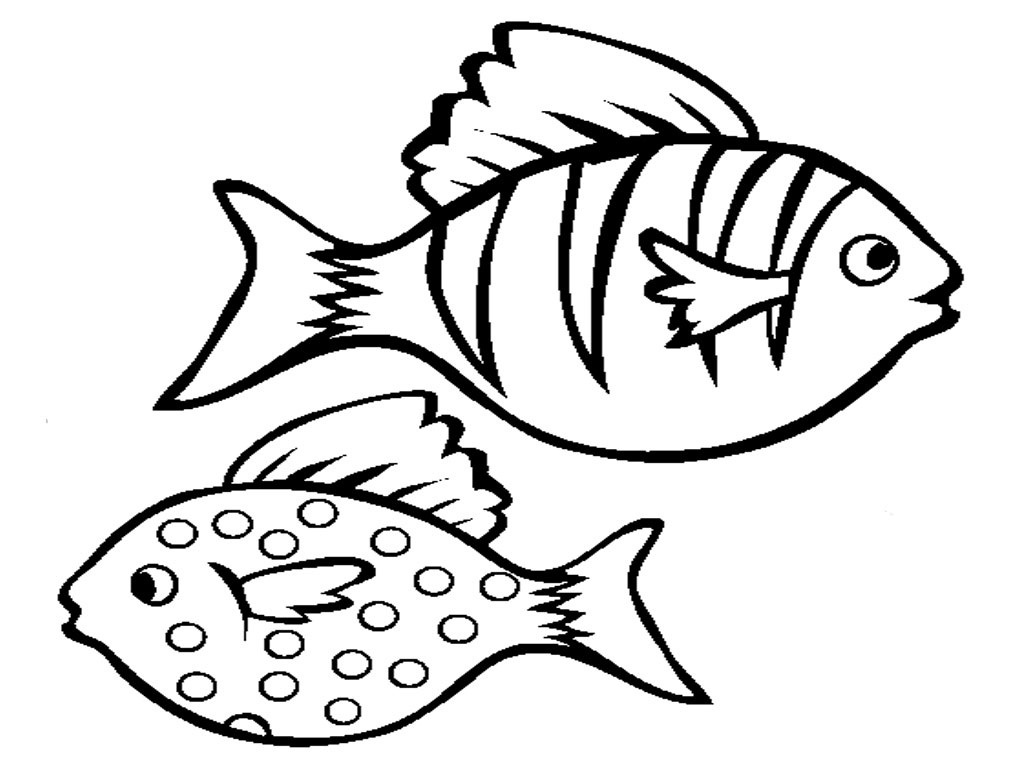 Drawn sea  With Coloring Fish Photos