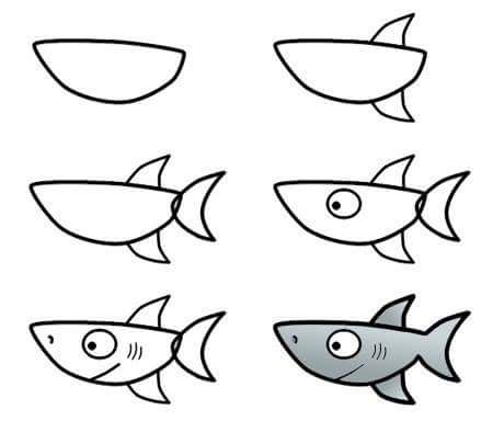 Ocean clipart easy How to draw draw Pinterest