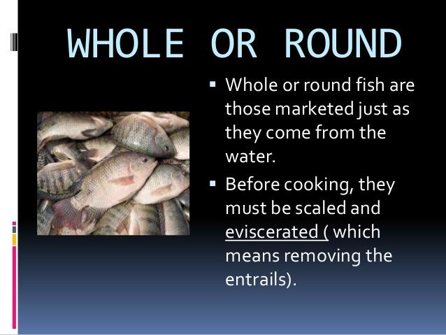 Drawn fishing market Form of 3 Market fish