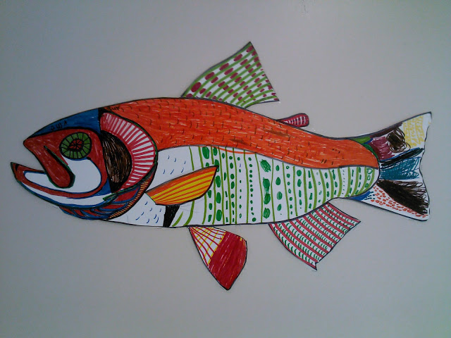 Drawn fishing school By Pattern Fine Fishing 2nd