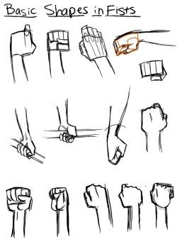 Drawn fist Is fists! This refs tutorials/