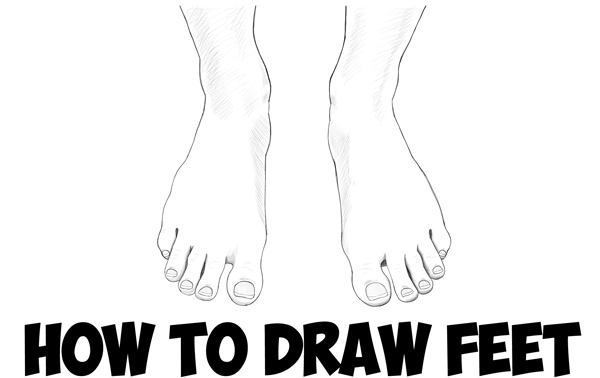 Drawn fist hand and foot Tutorial Step to Step Hands