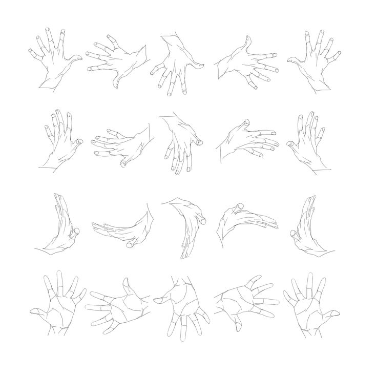 Drawn fist hand movement Drawing on Drawing images &