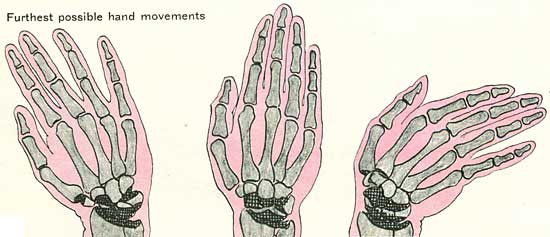 Drawn fist hand movement Right moving the draw to