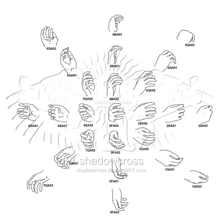 Drawn fist hand reference Best Pin and Hands/Fingers images