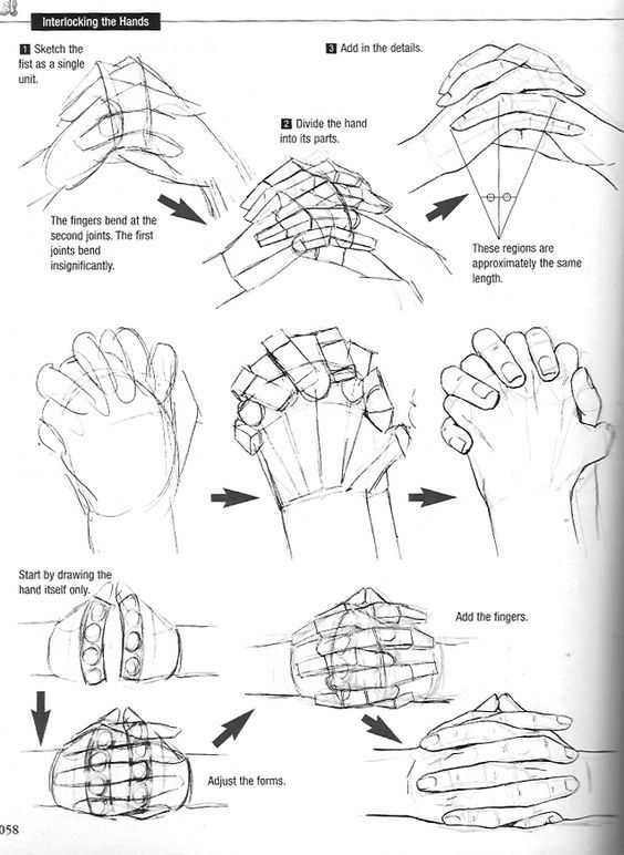 Drawn fist hand reference Fingers Graphic Sha's on Manga: