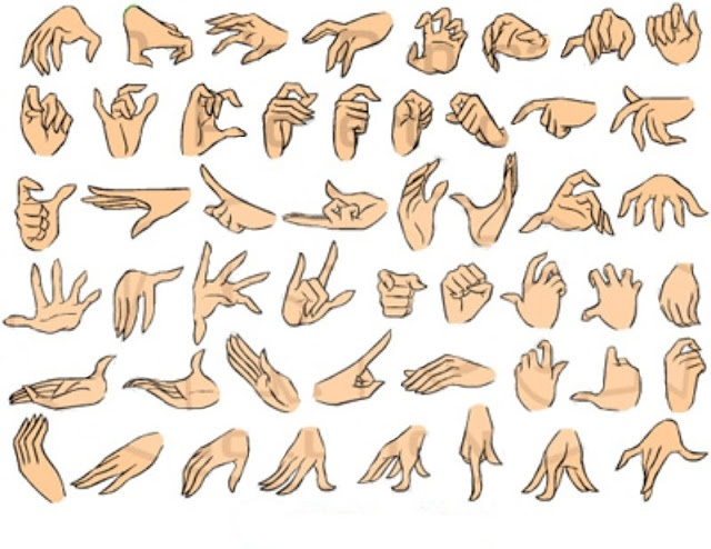 Drawn fist hand reference On 169 best & Pinterest
