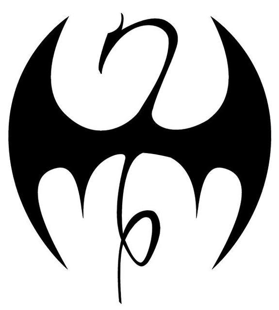 Drawn fist logo Fist Iron Fist The