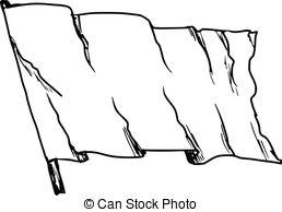 Drawn flag Set drawn Flag Hand hand