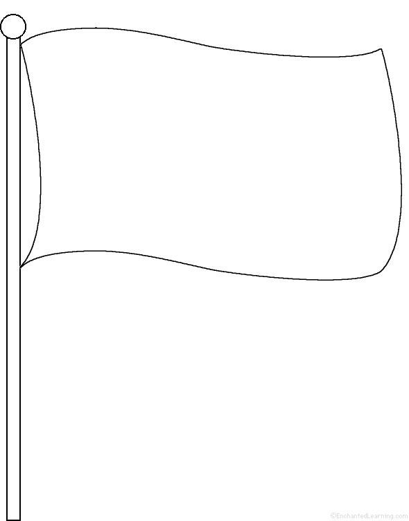Drawn flag F perimeter EnchantedLearning com poem