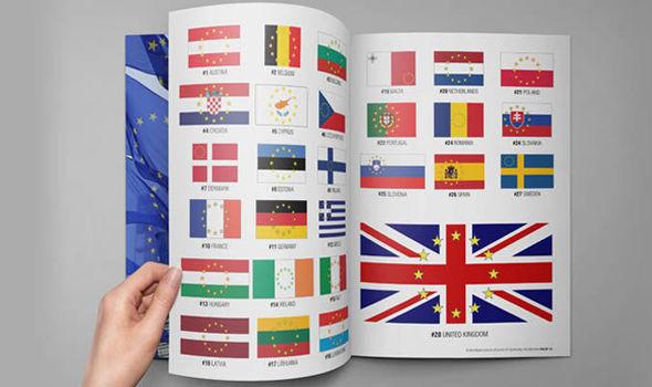 Drawn flag eu country Stars plans flag bosses be