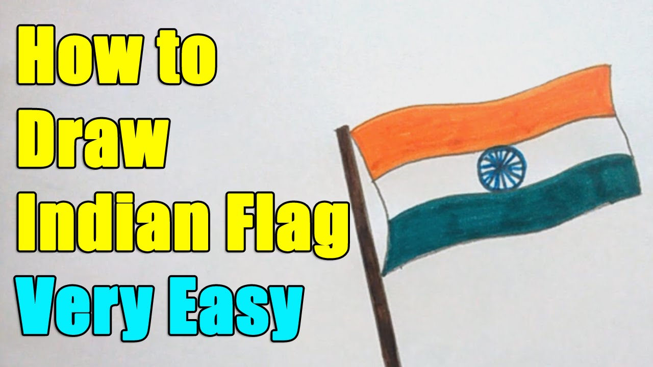 Drawn flag indian To  January this on