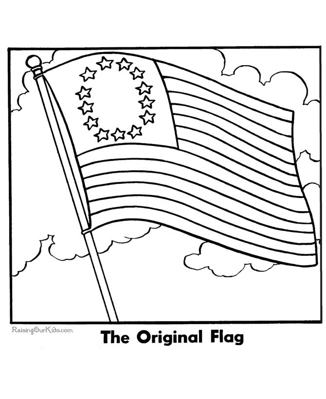 America clipart colonial flag Best American  ideas coloring