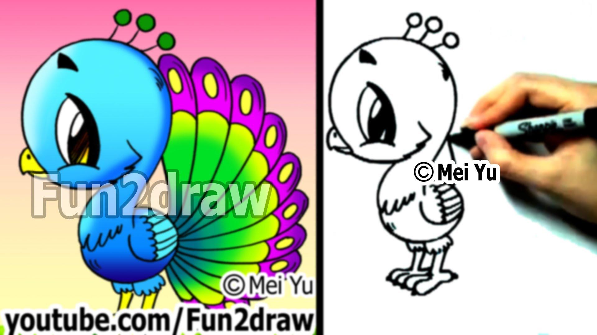 Drawn pumpkin fun2draw Animals to How Art