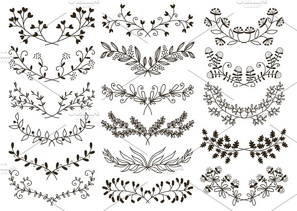 Drawn floral #1