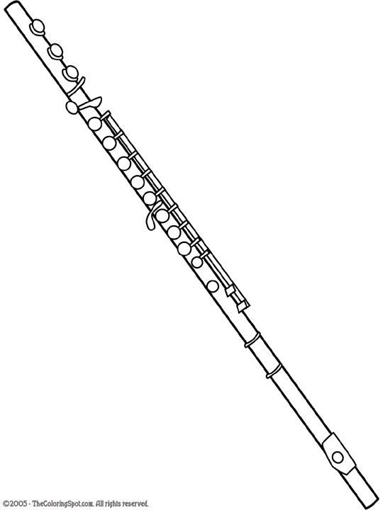 Drawn flute On great picture ideas Pinterest