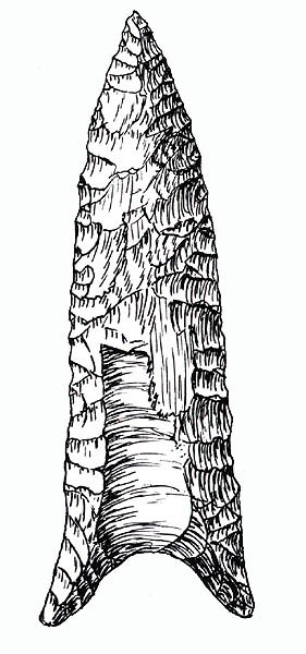 Drawn fluted  black and white Stone Graham Cave Chapmnan in