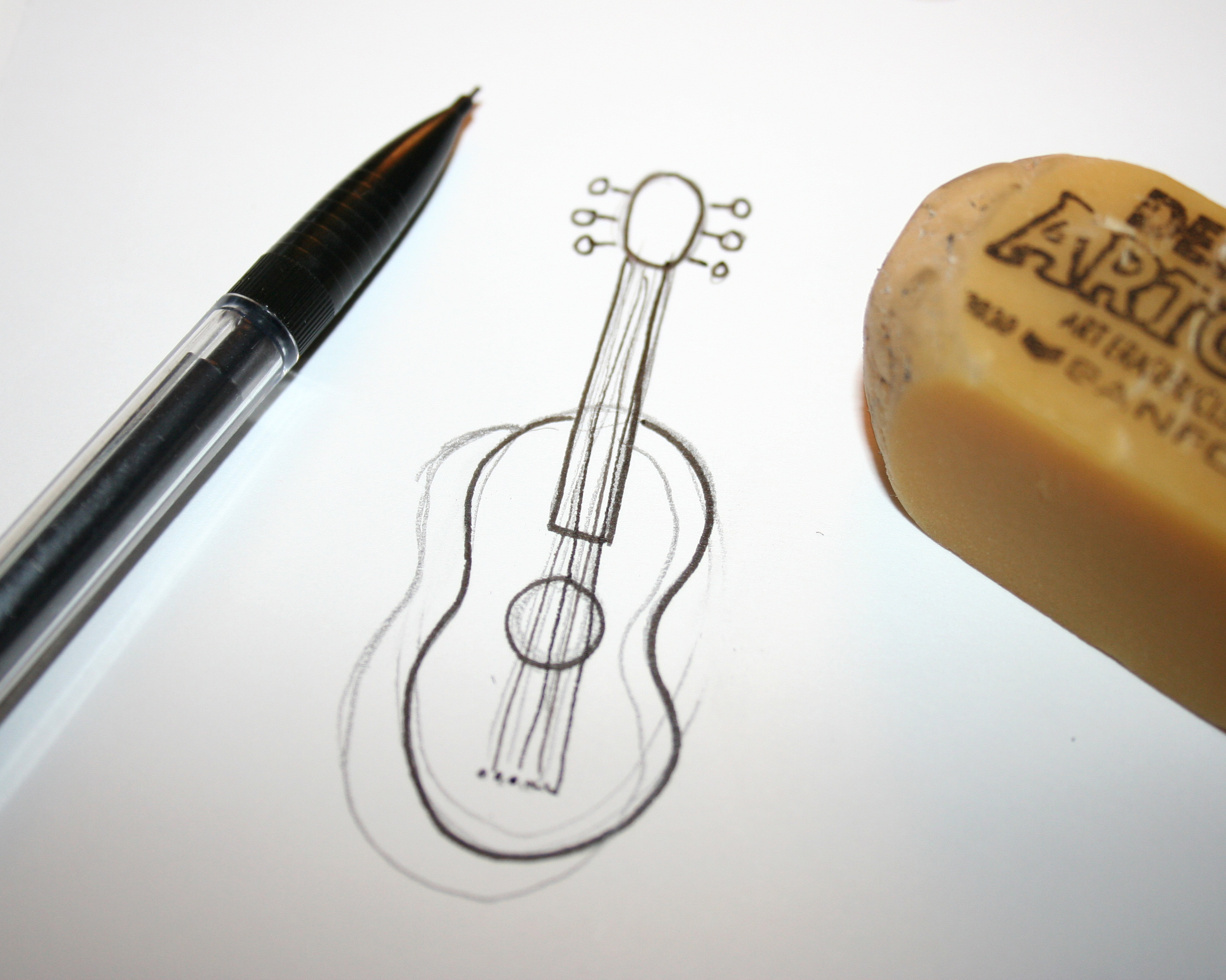 Drawn fluted  musical instrument On Learn Craftsy drawing to