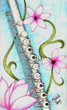 Drawn fluted  rainbow My 2: the flute daily
