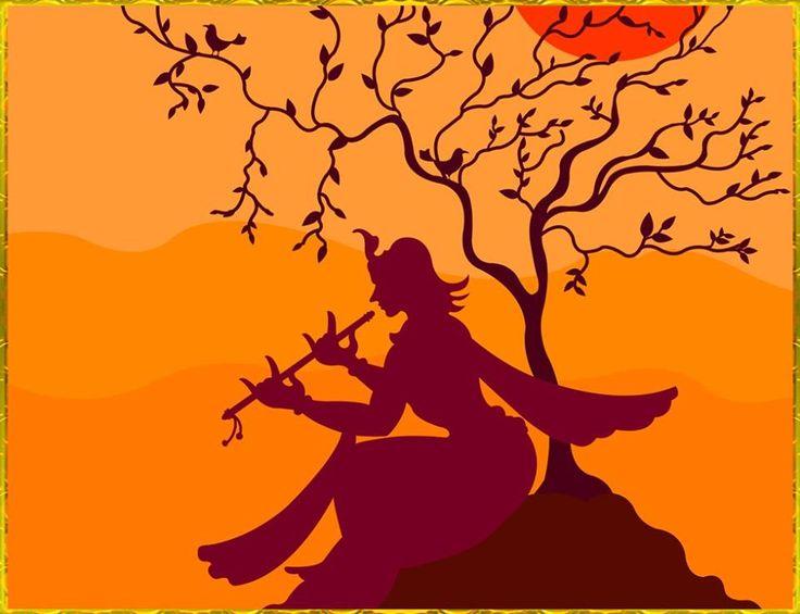 Drawn fluted  shree krishna The GOVINDA 137 is http://krishna