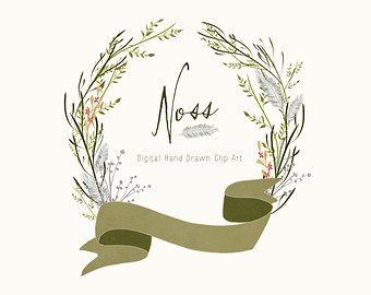 Drawn foliage Drawn Foliage clipart Art Clip