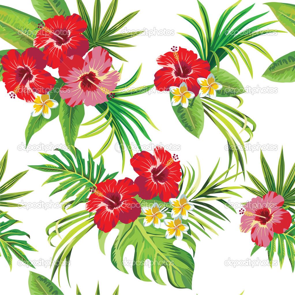Tropics clipart hibiscus flower #12