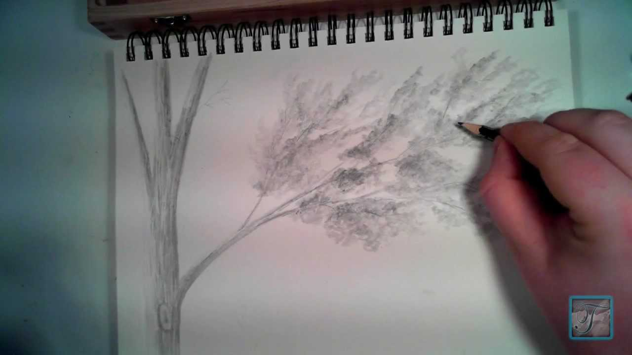 Drawn river realistic Draw Leaves to How YouTube